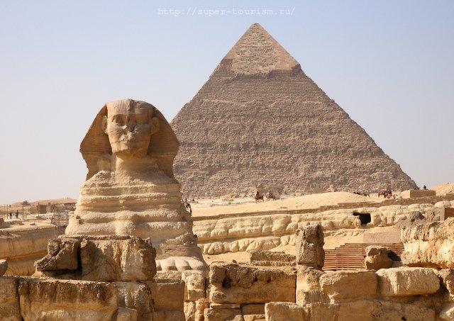 Сфинкс и пирамиды отдых в Египте