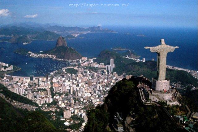 Бразилия Экскурсионный туризм Статуя Иисуса Христа