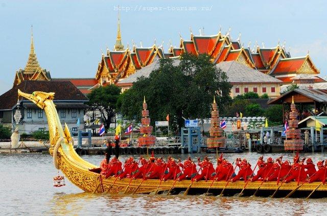 Королевская баржа отдых в Таиланде