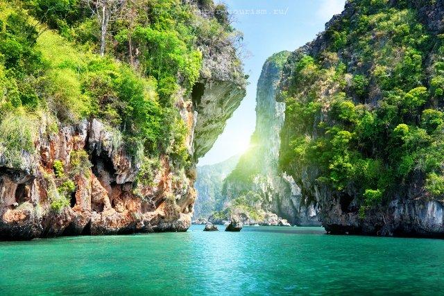 Водопад Краби Таиланд путешествия отдых
