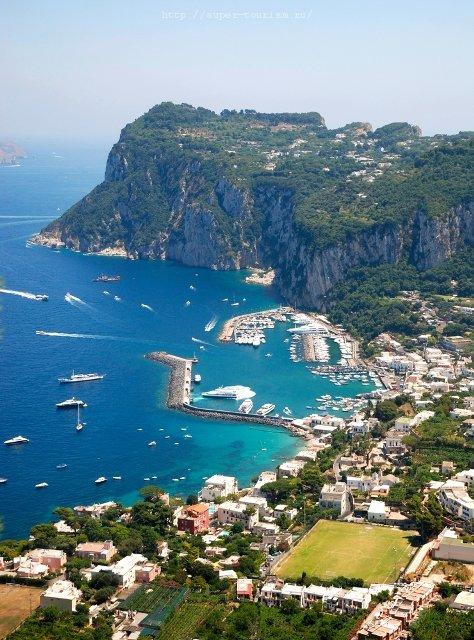 остров Капри отдых за границей в Италии