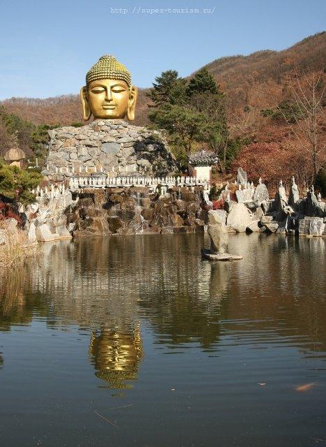 Горный храм Wowoojongsa отдых и туризм в Южной Корее
