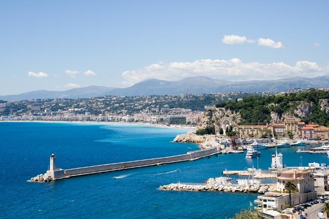 Ницца отдых на море во Франции
