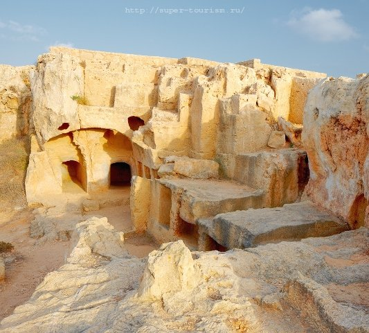 Кипр отдых Царские гробницы (г. Пафос)