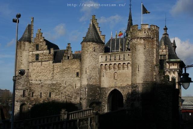 Крепость в Антверпене, Бельгия