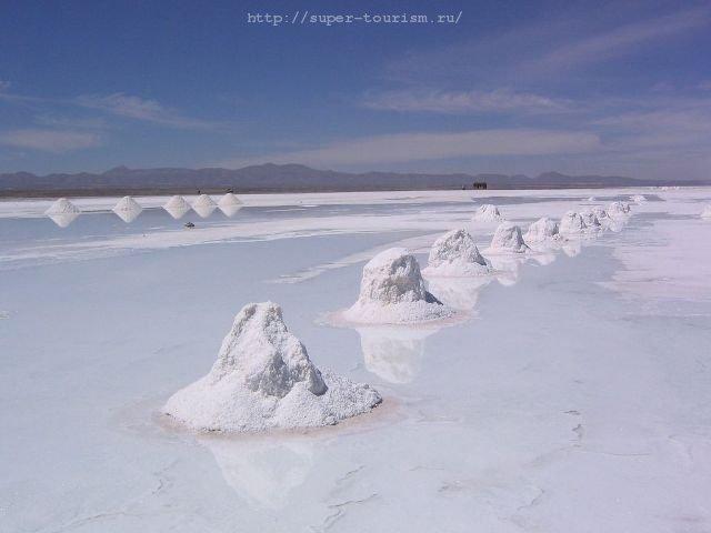 Озеро Солончак Уюни, Боливия