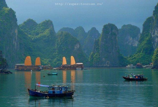 бухта-Халонг-Вьетнам туры