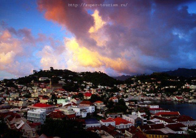 остров Гренада Сент-Джорджес