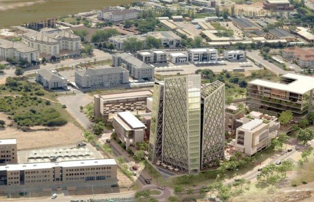 столица Ботсваны Габороне