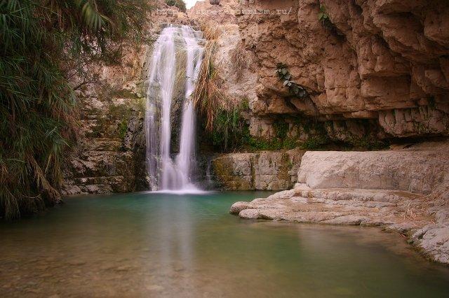 Водопад Давида Израиль