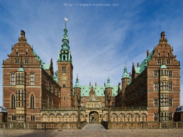 Отдых в Дании. Замок Фредериксборг