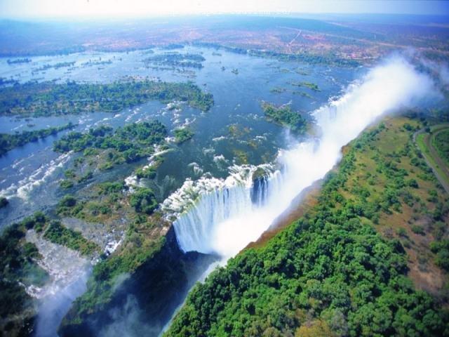 туры в Замбию водопад Виктория