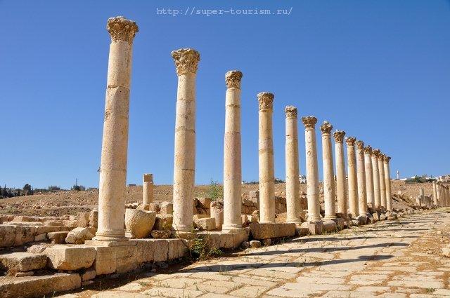 Джераш, Иордания туризм и отдых