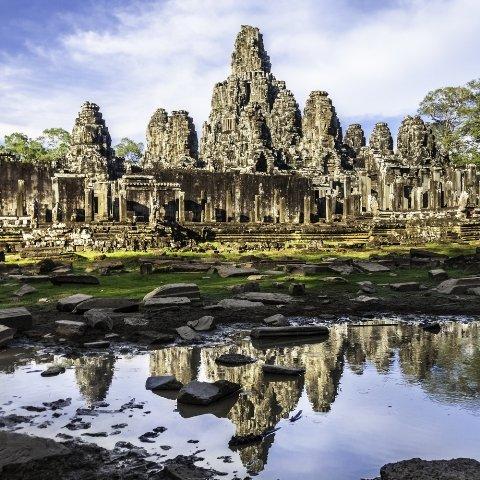 отдых в Камбодже Храм Байон