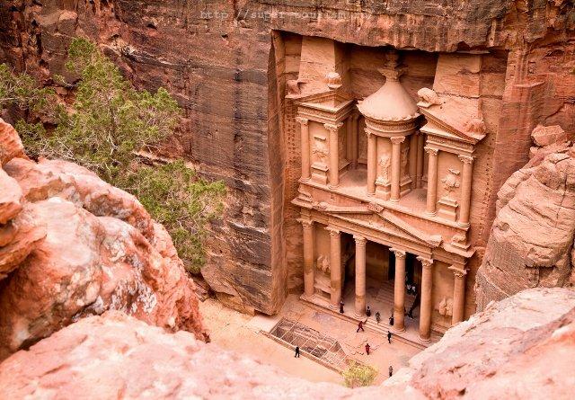 Петра, отдых в Иордании путешествия