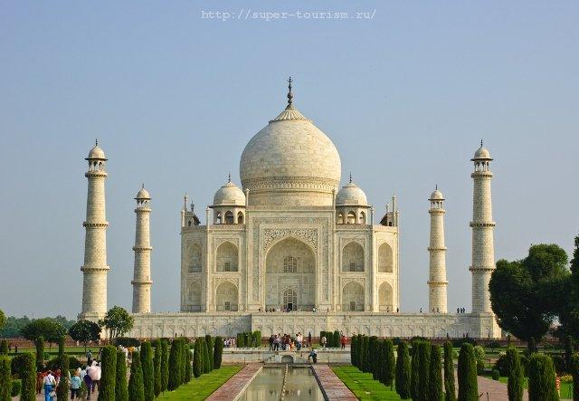 Тадж Махал отдых в Индии