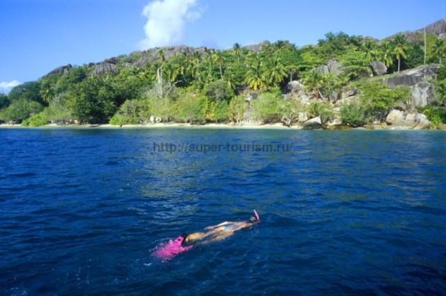 туристическая зона Ловина Индонезия