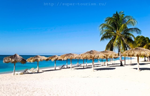 Кубинский пляж туризм