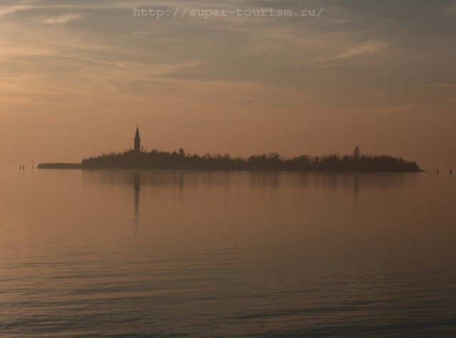 остров Повелья Венеция фрик отдых