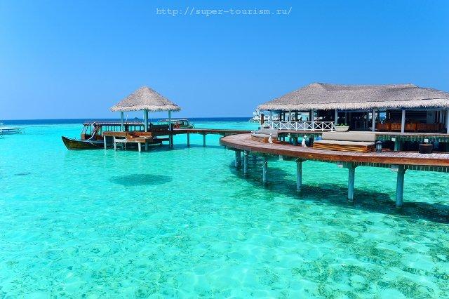 Бунгало типа Water Villa Мальдивы пляжный отдых
