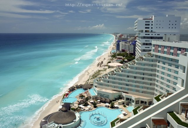 Канкун курорты Мексики