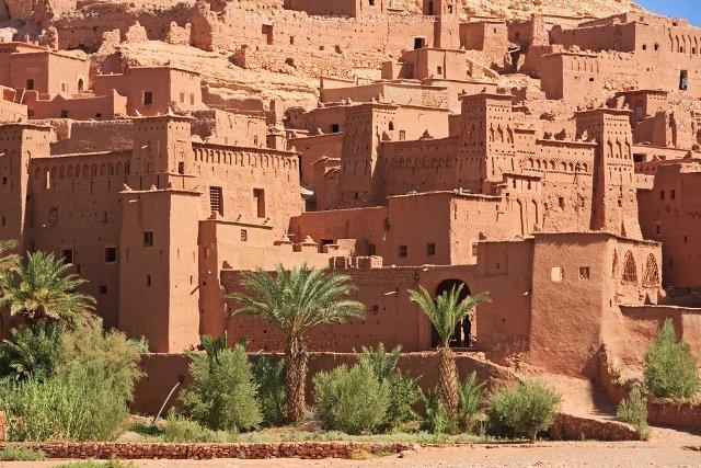 Ксар отдых в Марокко туризм