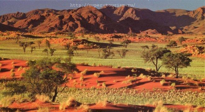 Намибия отдых за границей