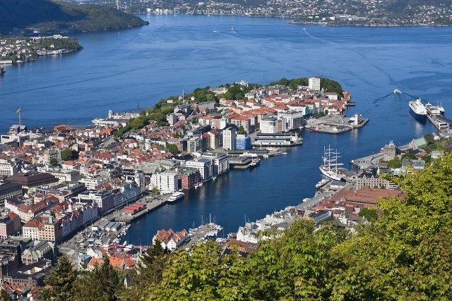 Норвегия отдых за границей Берген