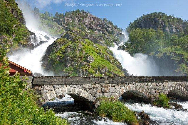 Норвегия Латефоссен