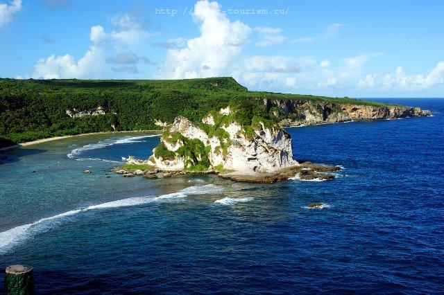 Остров птиц Бард Айланд Северные Марианские острова