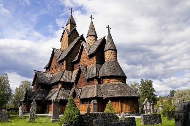 туры в Норвегию Ставкирка в Хеддале