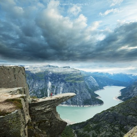 отдых в Норвегии Язык Тролля