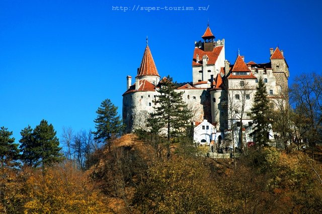 Румыния Замок Дракулы, Трансильвания