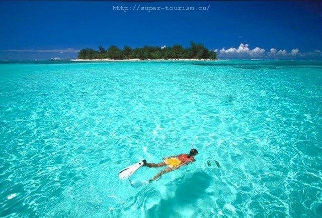 Отдых на Марианских островах дайвинг
