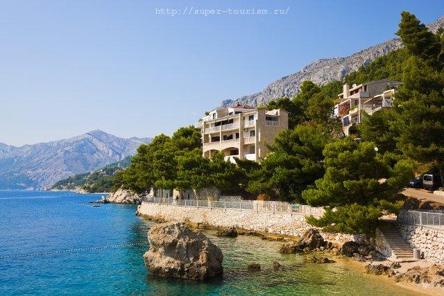 Отдых на море в Хорватии  Брела