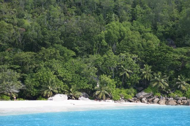 Сейшелы Вид на один из островов