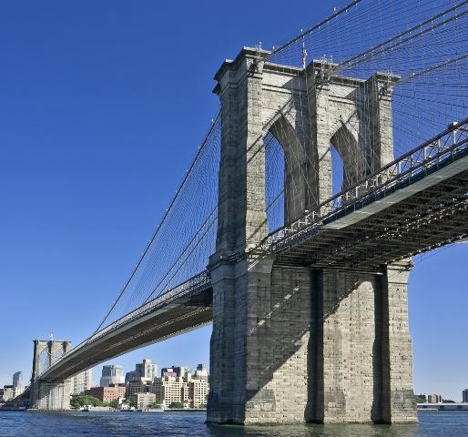 Бруклинский мост США туризм за границей