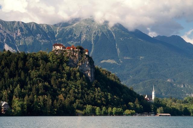 путешествие в Словению Озеро Блед