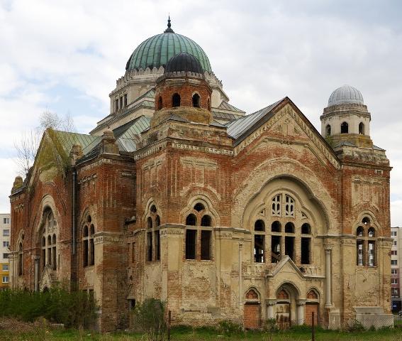 Старинная синагога в г.Лученец Словакия отдых и туризм