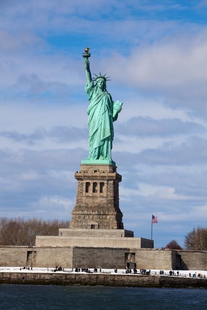 Статуя Свободы США отдых за границей
