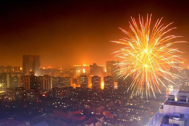 Новый год 2014 в Пекине