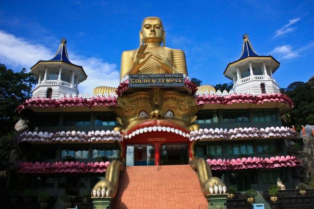 отдых храм Дамбулла