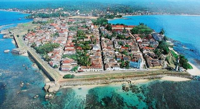 город Галле путешествие в Шри-Ланку