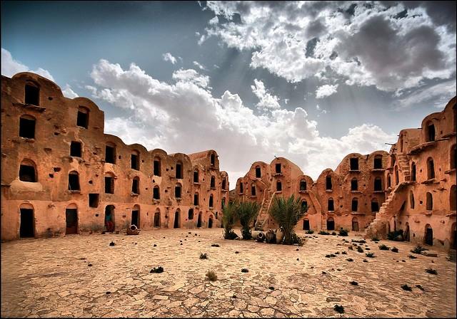 город Татуин Тунис
