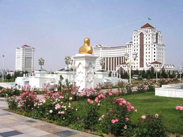 столица Ашхабад