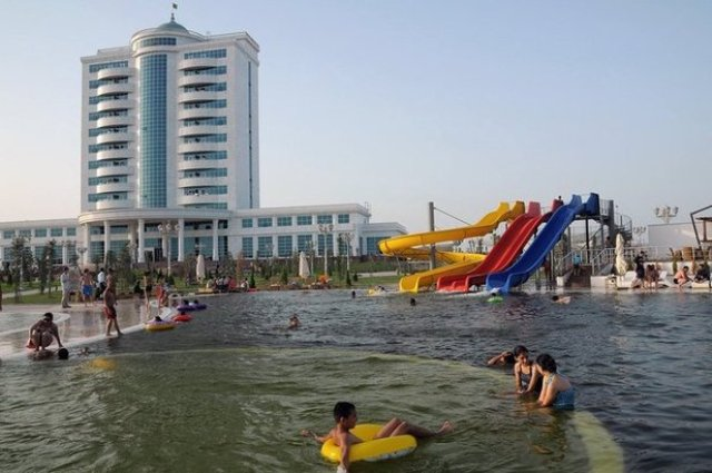 курорт Аваза отдых в Туркменистане