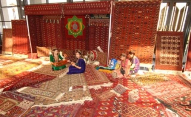 Ашхабад музей ковров