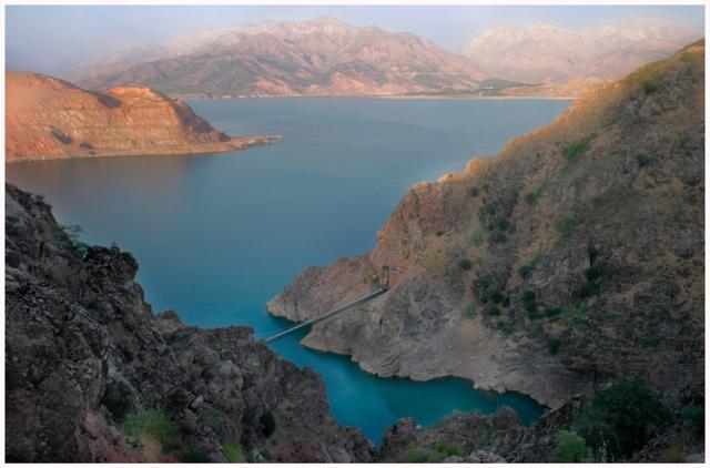 Узбекистан курорт Чарвак