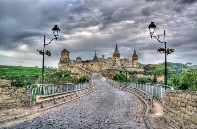 отдых на Украине Каменец-Подольский замок