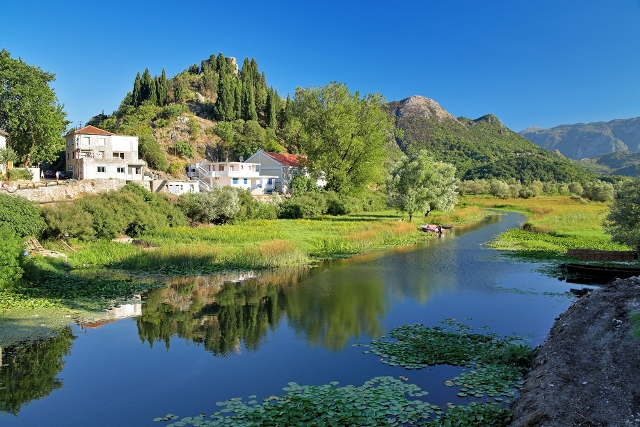 Скадарское озеро страна Черногория